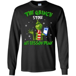 The Grinch Stole My Lesson Plan shirt - image 3587 247x247
