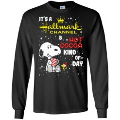 Snoopy It's A Hallmark Christmas Channel and Hot Cocoa Kind of Day swetshirt shirt - image 4229 247x247