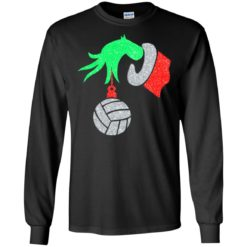 The Grinch Hand holding Volleyball shirt - image 4381 247x247