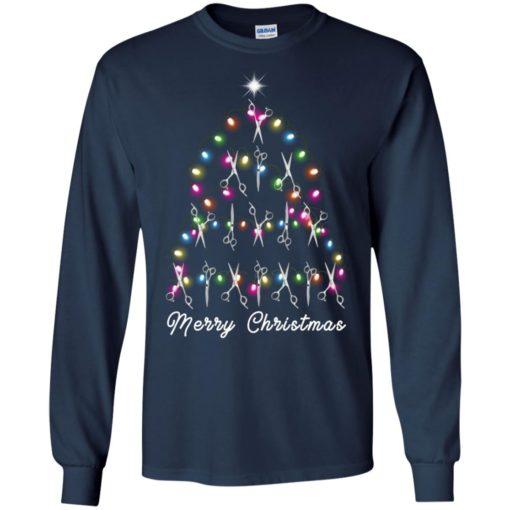 Hair Stylist Christmas tree sweatshirt shirt - image 4598 510x510