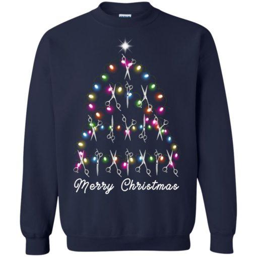 Hair Stylist Christmas tree sweatshirt shirt - image 4601 510x510