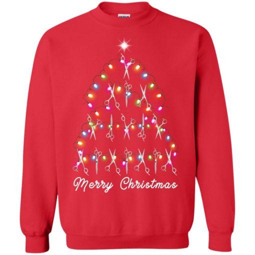 Hair Stylist Christmas tree sweatshirt shirt - image 4602 510x510