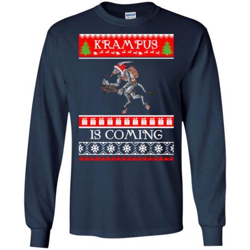 Kram Pus is coming Christmas sweatshirt shirt - image 4606 510x510