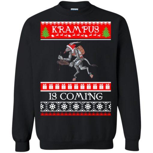 Kram Pus is coming Christmas sweatshirt shirt - image 4608 510x510