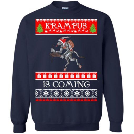Kram Pus is coming Christmas sweatshirt shirt - image 4609 510x510