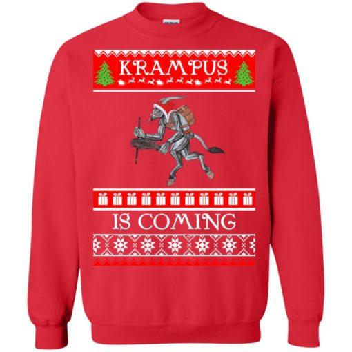 Kram Pus is coming Christmas sweatshirt shirt - image 4610 510x510