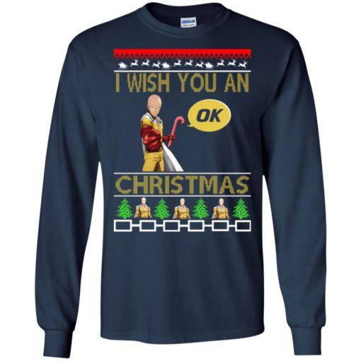 Saitama I wish you an OK Christmas sweatshirt shirt - image 4614 510x510