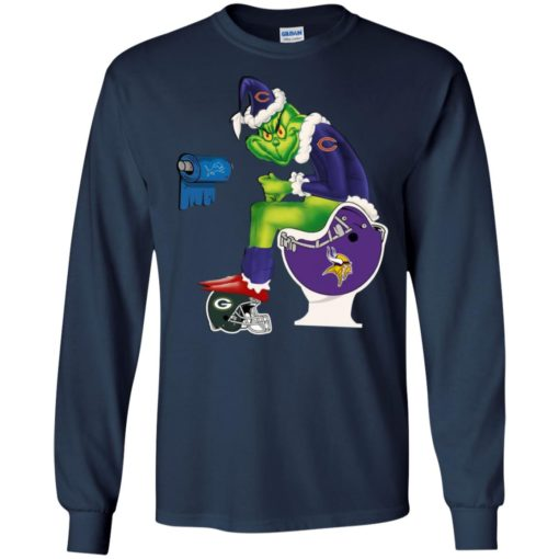 The Grinch Chicago Bears sweatshirt shirt - image 4630 510x510