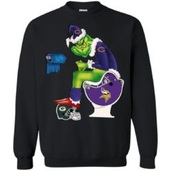 The Grinch Chicago Bears sweatshirt shirt - image 4632 247x247