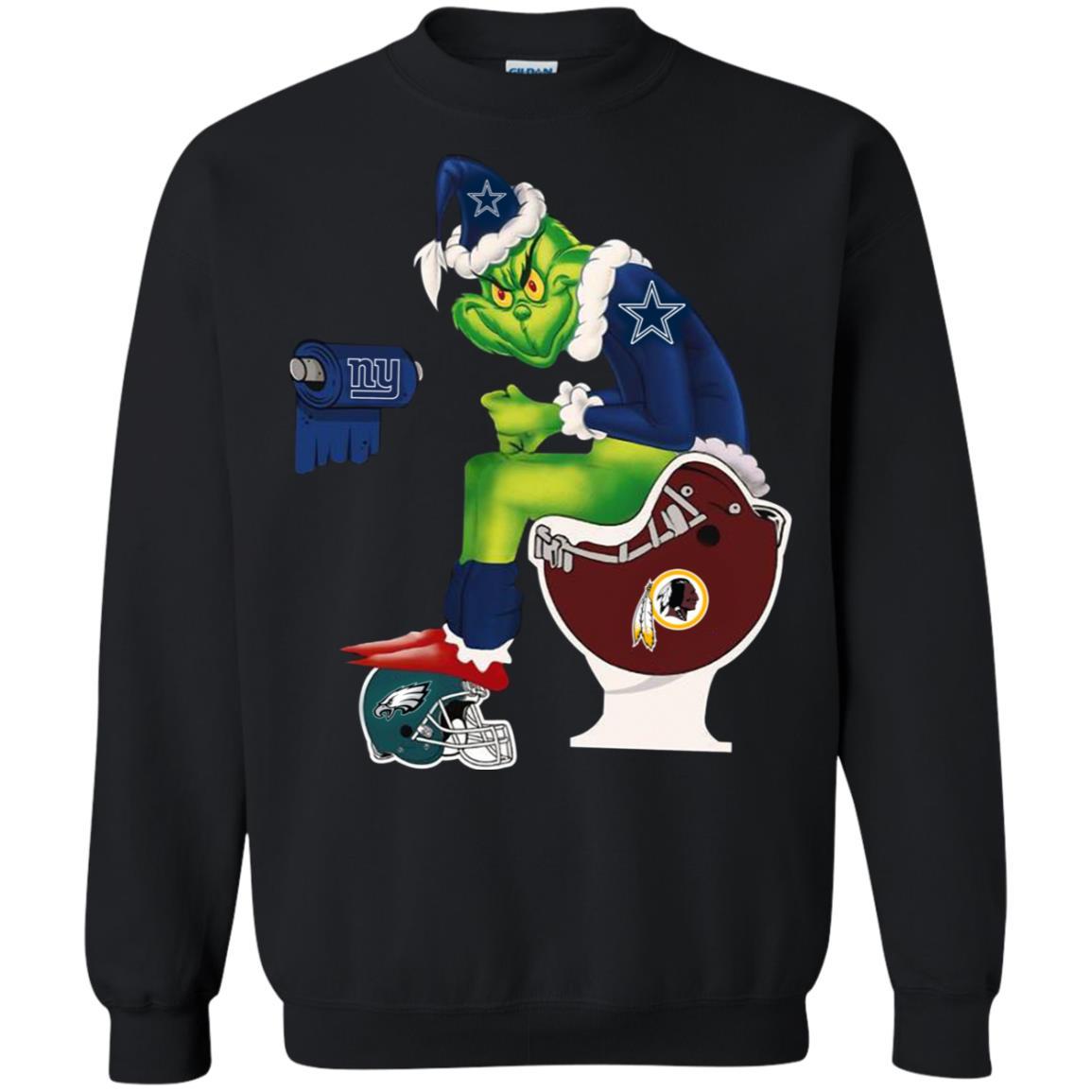 e90504fe3 The Grinch Dallas Cowboys sweatshirt shirt - image 4648 510x510