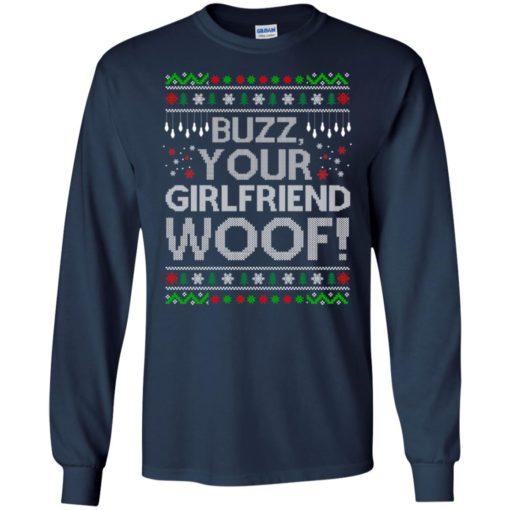 Buzz your Girlfriend Woof sweater shirt - image 680 510x510