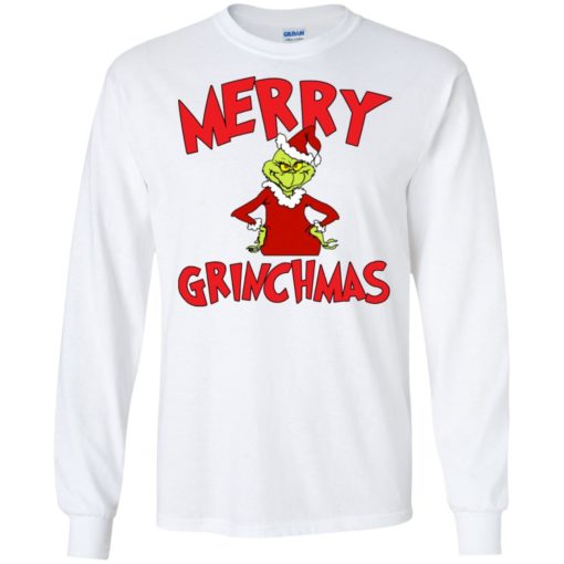 Merry Grinchmas sweater shirt - image 721 510x510