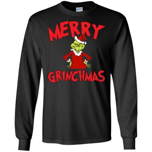 Merry Grinchmas sweater shirt - image 722 510x510