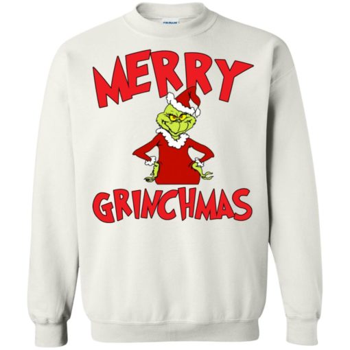 Merry Grinchmas sweater shirt - image 726 510x510