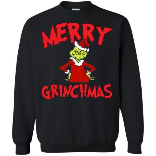 Merry Grinchmas sweater shirt - image 727 510x510