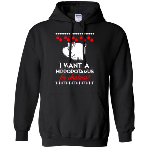 I Want A Hippopotamus For Christmas ugly sweatshirt shirt - image 73 510x510