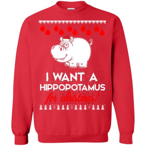 I Want A Hippopotamus For Christmas ugly sweatshirt shirt - image 76 510x510