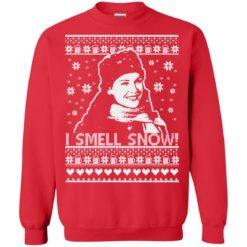 Lorelai I smell snow Christmas sweatshirt shirt - image 862 247x247