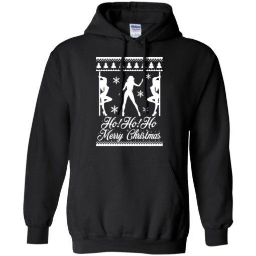 Ho Ho Ho Strippers X Mas ugly sweatshirt shirt - image 93 510x510
