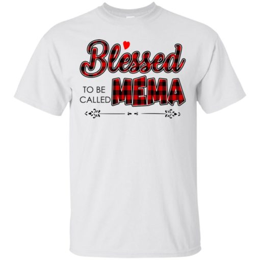 Blessed to be called Mema shirt - image 1022 510x510