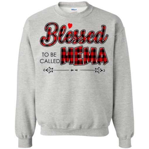 Blessed to be called Mema shirt - image 1027 510x510
