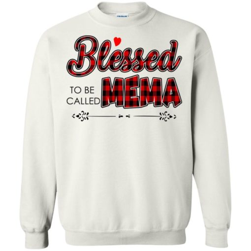 Blessed to be called Mema shirt - image 1028 510x510