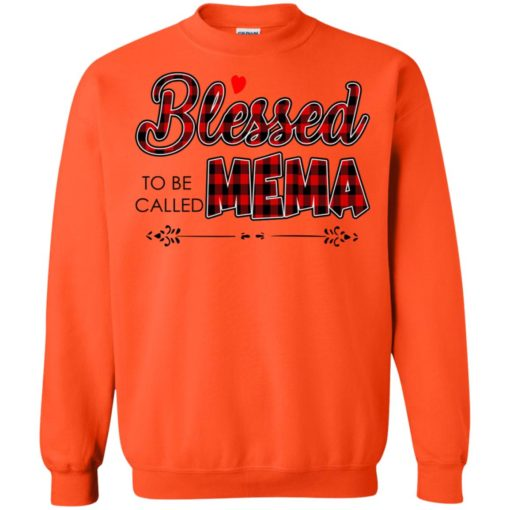 Blessed to be called Mema shirt - image 1029 510x510