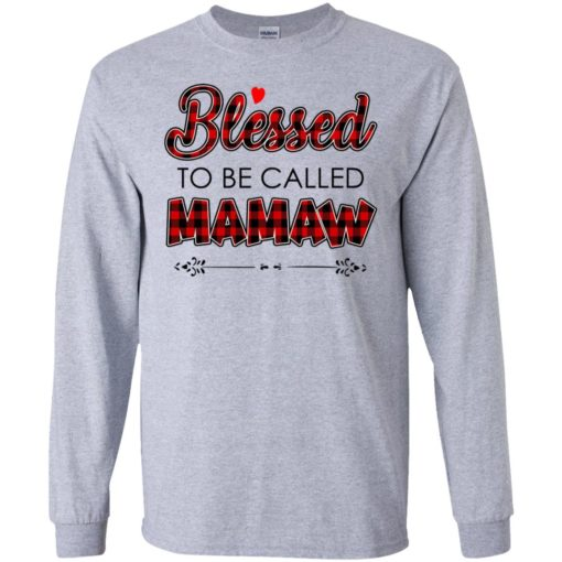 Blessed to be called Mamaw shirt - image 1034 510x510