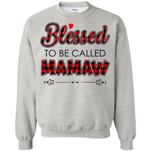 Blessed to be called Mamaw shirt - image 1036 510x510