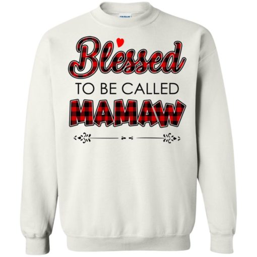 Blessed to be called Mamaw shirt - image 1037 510x510