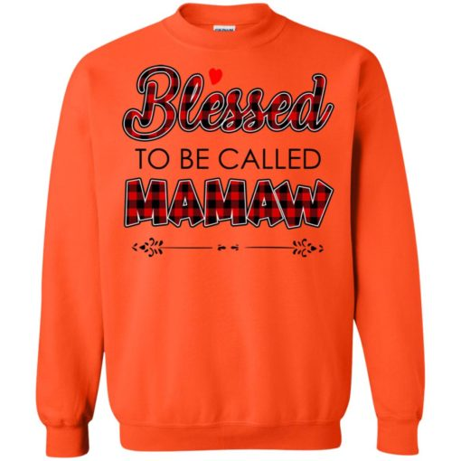 Blessed to be called Mamaw shirt - image 1038 510x510