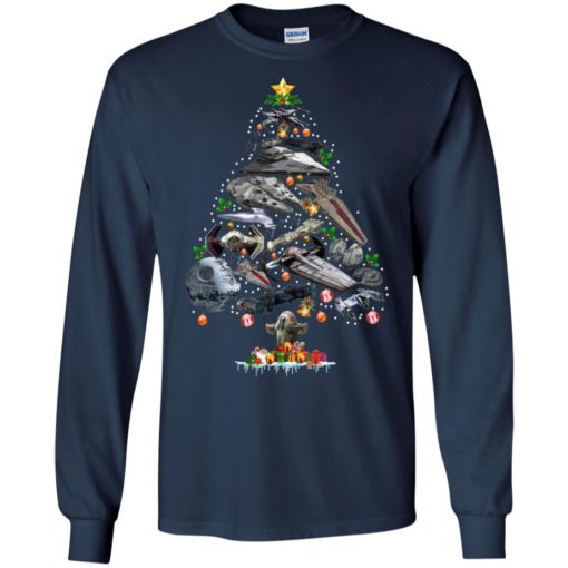 Ships Star Wars Christmas tree sweatshirt shirt - image 106 510x510