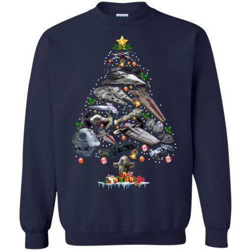 Ships Star Wars Christmas tree sweatshirt shirt - image 109 510x510