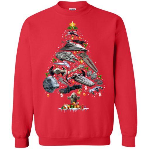 Ships Star Wars Christmas tree sweatshirt shirt - image 110 510x510