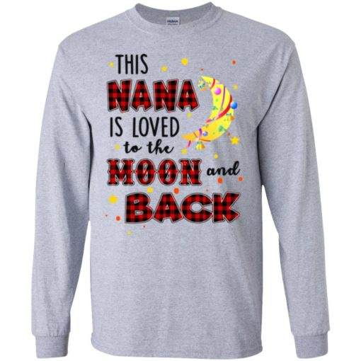 This Nana is loved to the moon and back shirt - image 1271 510x510