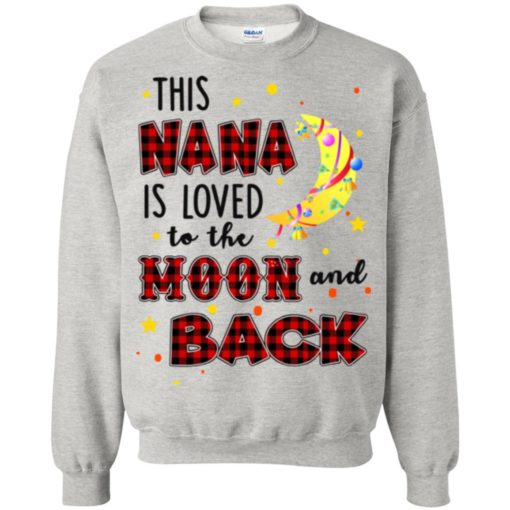 This Nana is loved to the moon and back shirt - image 1273 510x510