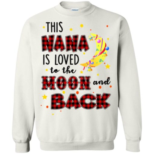 This Nana is loved to the moon and back shirt - image 1274 510x510