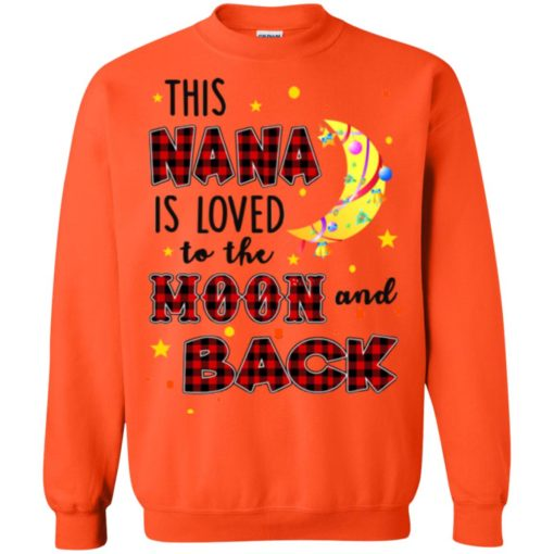 This Nana is loved to the moon and back shirt - image 1275 510x510