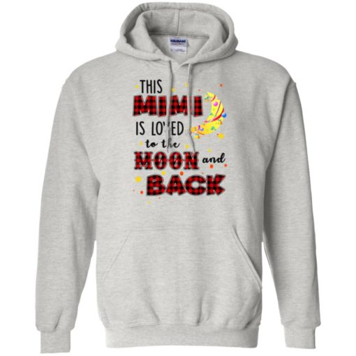 This Mimi is loved to the moon and back shirt - image 1281 510x510