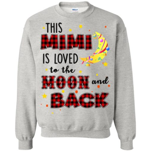 This Mimi is loved to the moon and back shirt - image 1282 510x510