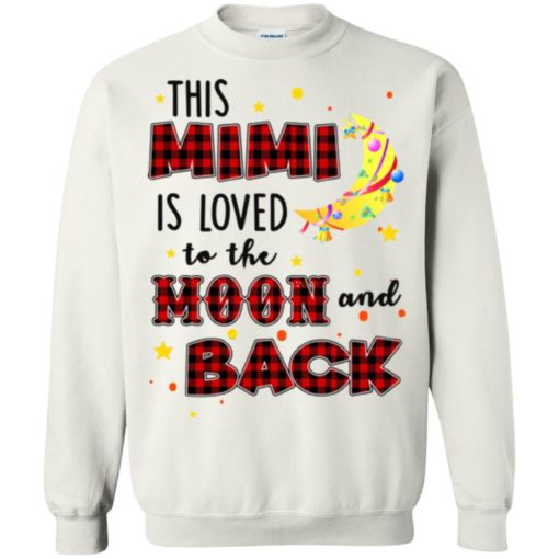 This Mimi is loved to the moon and back shirt - image 1283 510x510