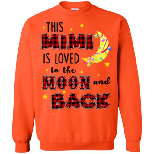 This Mimi is loved to the moon and back shirt - image 1284 510x510