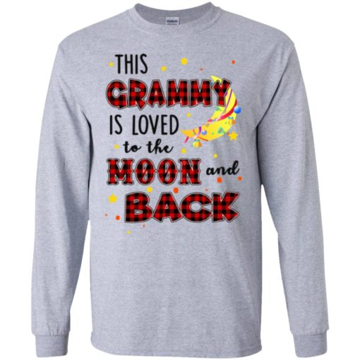 This Grammy is loved to the moon and back shirt - image 1289 510x510