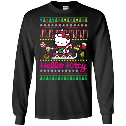Hello kitty Christmas sweater shirt - image 129 510x510