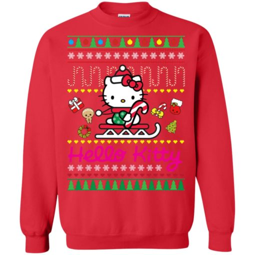 Hello kitty Christmas sweater shirt - image 134 510x510
