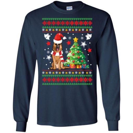 German Shepherd Christmas sweatshirt shirt - image 138 510x510