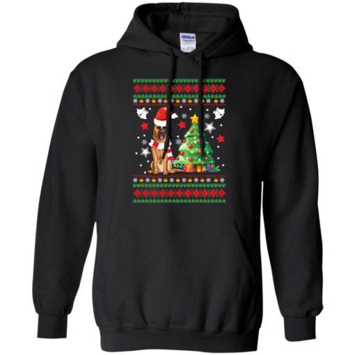 German Shepherd Christmas sweatshirt shirt - image 139 510x510