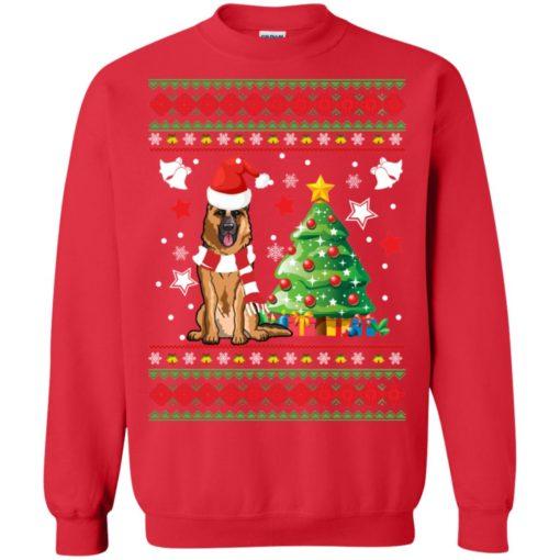 German Shepherd Christmas sweatshirt shirt - image 142 510x510