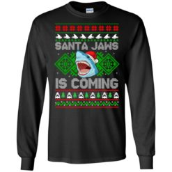 Santa Jaws is coming Christmas sweatshirt shirt - image 17 247x247