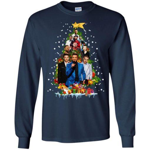 Justin Timberlake Christmas tree sweatshirt shirt - image 170 510x510
